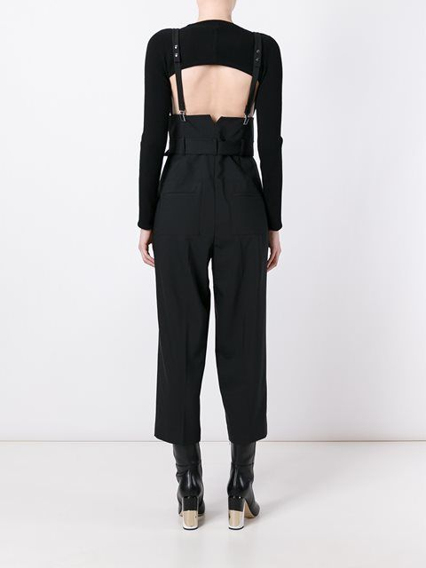 Elegant Suspender Pants  Suspenders For Women  Pinterest