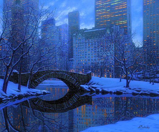 Il mondo di Mary Antony: scene invernali