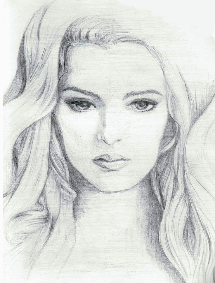 Pencil sketches of women pencil sketches of women faces for Pretty sketches