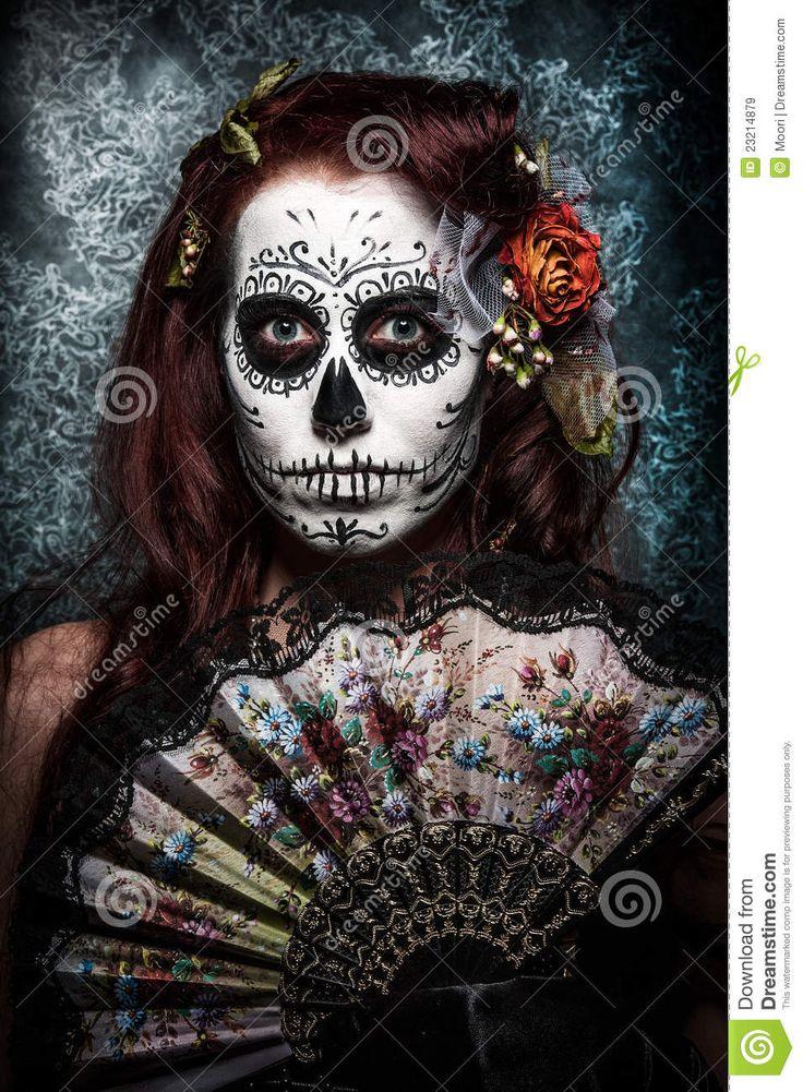 Día De Los Muertos Imágenes de archivo libres de regalías - Imagen: 23214879