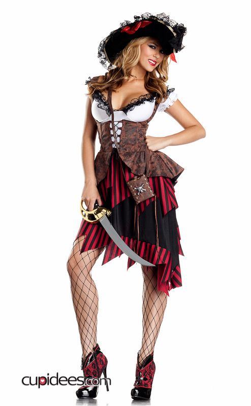 Sexy Provocative Pirate Costume - Cupidees.com