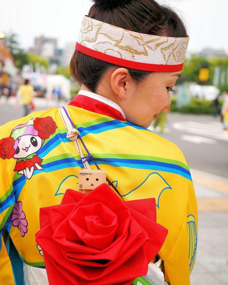 ひょ #flowerfestival #フラワーフェスティバル #よさこい #備後ばらバラよさこい踊り隊 #びんばら #バラ #薔薇 #rose #帯 #ダンボー #ダンボー写真部 #danboard #danbo #instadanbo #ig_japan #igersjapan #igersjp #ptk_japan #loves_nippon #bestjapanpics #setouchigram13 #toystagram #team_jp_西 (広島)#icu_japan #lovers_nippon #japan_daytime_view #japan_photo_now #lovers_nippon_portrait…