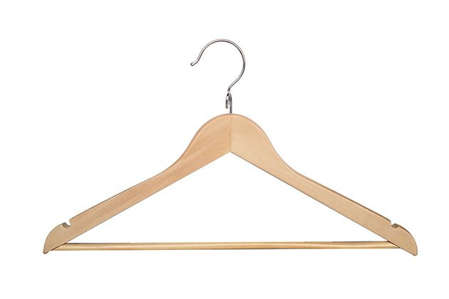 Treat your clothes right. After seven months of testing dozens of hangers, we found that the Proman Kascade Hanger beat out the competition thanks to its smooth, solid construction and versatility.