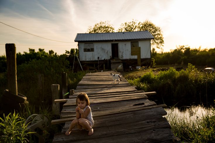 A $48 million federal grant has been allocated to resettle the residents of Isle de Jean Charles in southeastern Louisiana because of flooding. (Photo: Josh Haner/The New York Times)