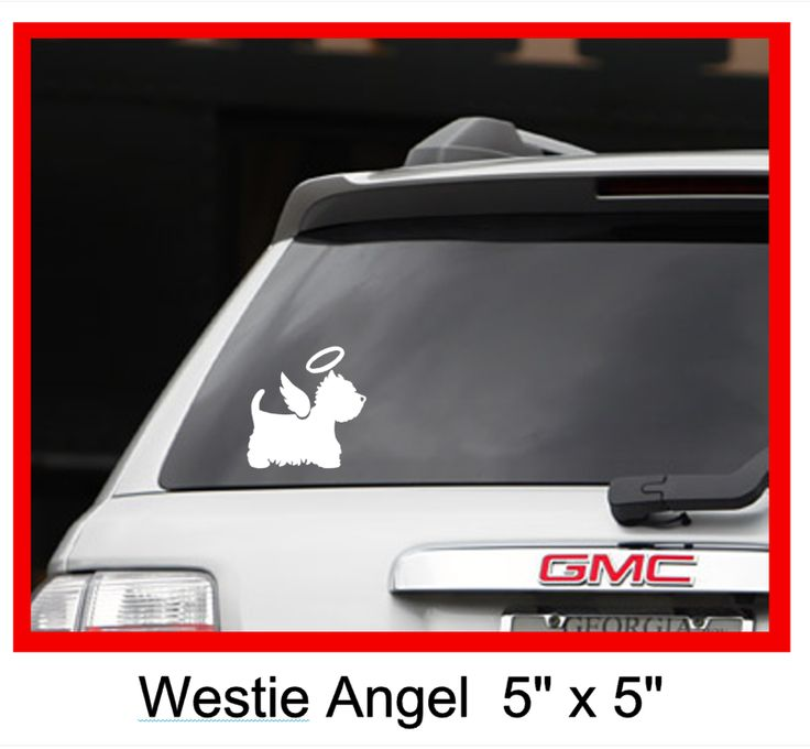 This professional grade vinyl decal is exclusive to westiemed it is handcrafted not mass