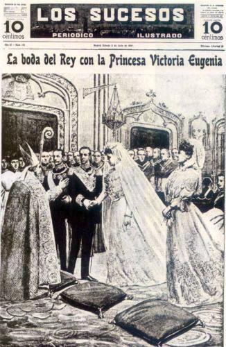 Los Sucesos Le Nozze del Re con la Principessa Vittoria Eugenia