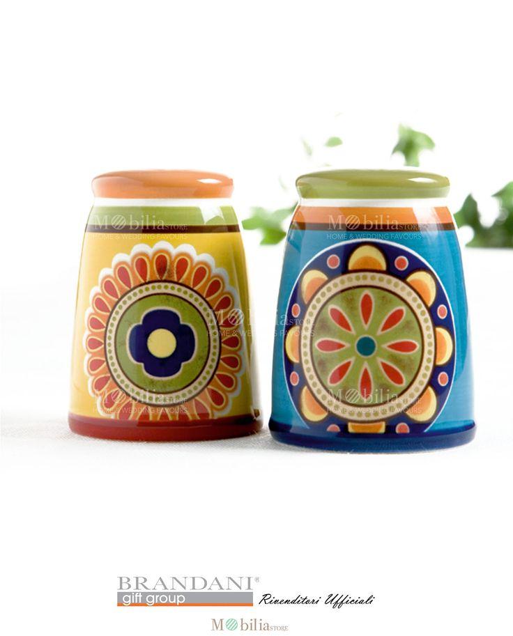Set Sale e pepe Brandani in ceramica ironstone dai colori e decori messicani ideali per rendere gustosi i tuoi piatti. Scopri le eccezionali promozioni su Mobilia Store.