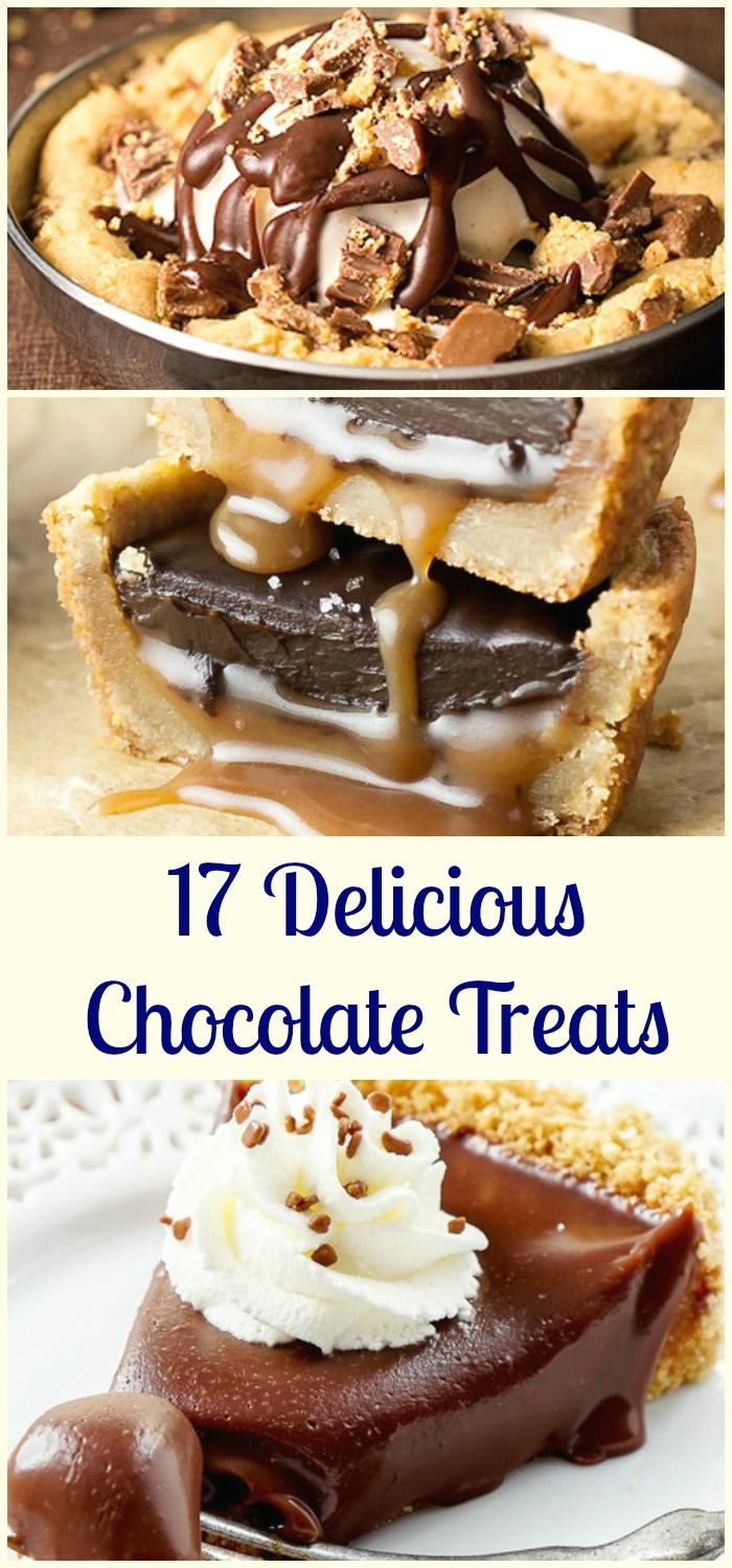 17 Delicious Chocolate Treats to Try This Easter / Good to Try Anytime of Year To Be Honest. All Delicious.
