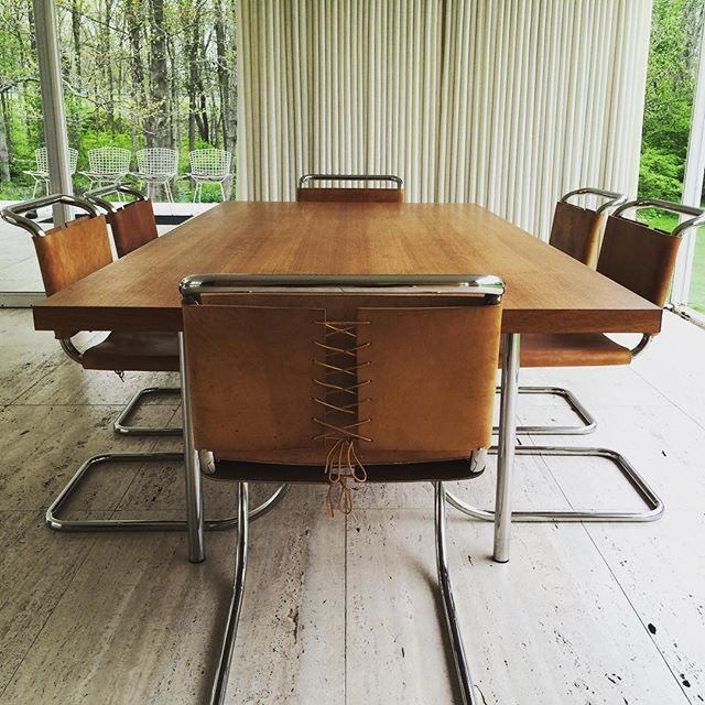 #miesvanderrohe #furniture #farnsworthhouse #plano