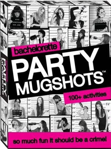 #Bachelorette Party Mugshots  Take turns at the bachelorette party by completing mugshot dares and documenting them with memorable photos.