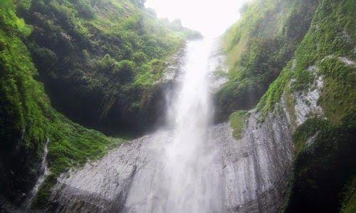 Jual Tiket Pesawat: Air Terjun Madakaripura Surabaya Indonesia  Satu lagi, air terjun cantik yang ada di Indonesia, Air Terjun Madakaripura. Air terjun ini masih berada di kawasan Taman Nasional Bromo Tengger Semeru, tepatnya di Desa Sapih, Kecamatan Lumbang, Kabupaten Probolinggo, Provinsi Jawa Timur. Air terjun Madakaripura berada di tebing-tebing hijau yang menjulang tinggi. Air terjun ini seakan-akan menyerupai tirai di seluruh bidang tebingnya, cantik sekali.