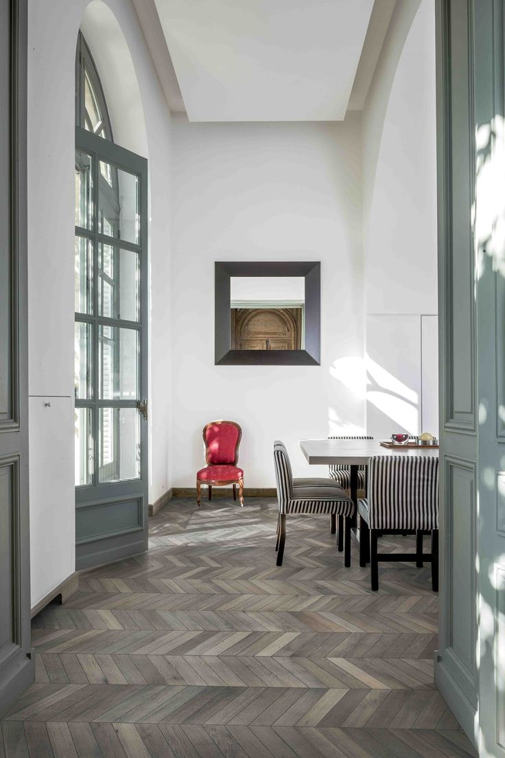 Herringbone Pattern Floors Are Now at Your Fingertips