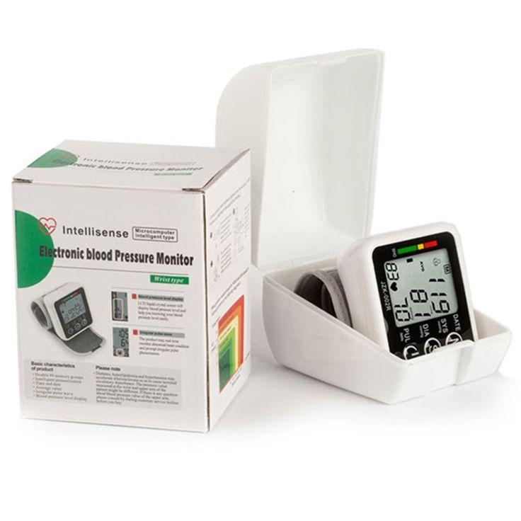 Casa medidor de pressão arterial pulso Sphygmomanometer e pulso digital tonômetro para testar a pressão arterial alishoppbrasil