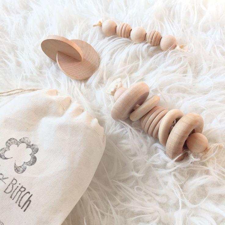Pre- Sale Wood Toys - Modern Toys - Montessori Baby Gift Set