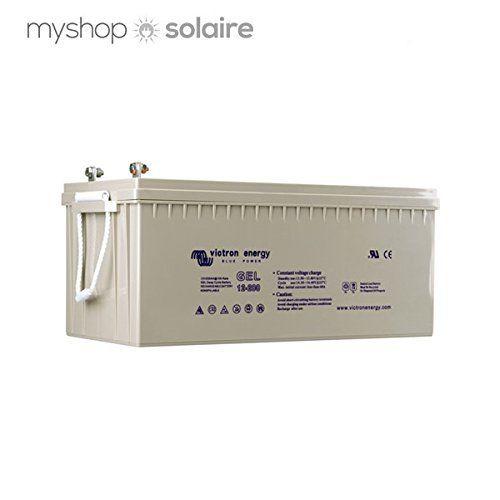 Batterie GEL solaire VICTRON 220 Ah 12V: Equipée de la nouvelle technologie GEL, c'est notre batterie de 12V disposant de la capacité de…