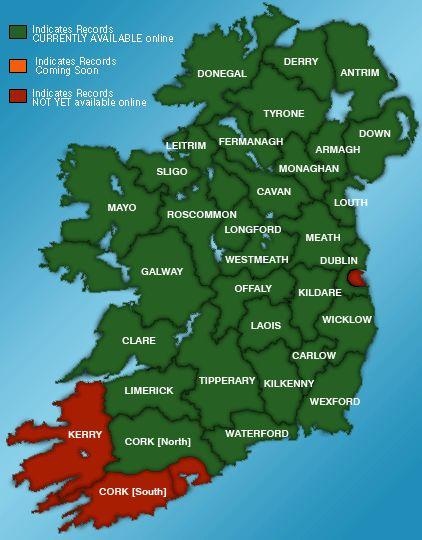 Birth Death Marriage Genealogy Records Ireland - Irish Family History Foundation