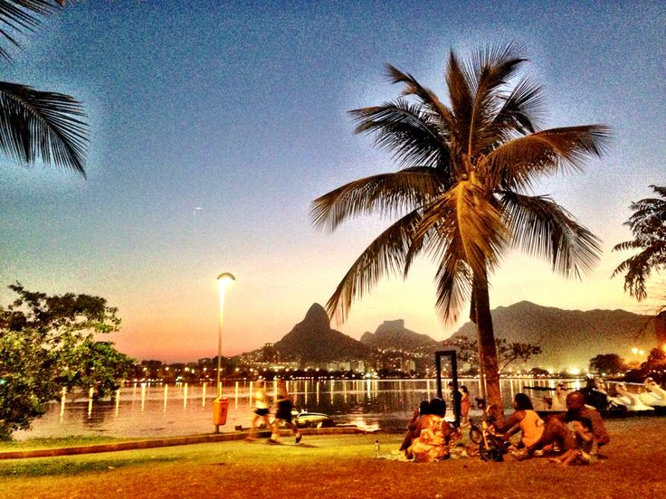 Lagoa Rodrigo de Freitas, Rio de Janeiro Brasil