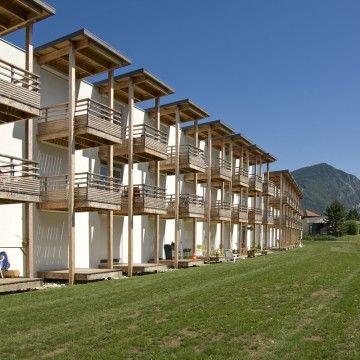 Résidence universitaire la Salamandre  Annecy Le Vieux CAUE Haute-Savoie
