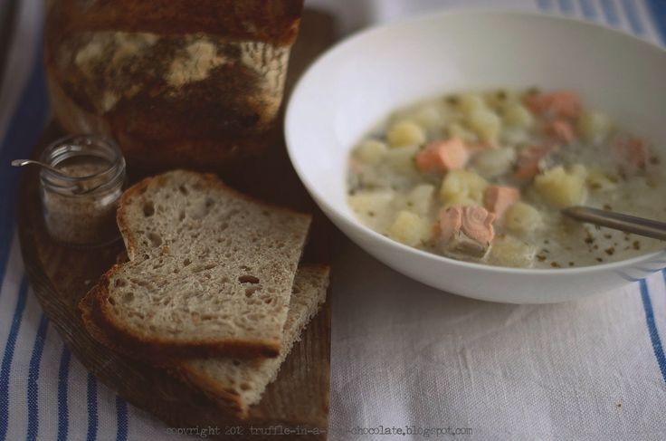 Trufla: Kojące jedzenie. Kartoflanka z łososiem. Obiad w 15 min.