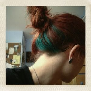 Awesome The 25 Best Hair Streaks Ideas On Pinterest Colored Highlights Hairstyles For Women Draintrainus