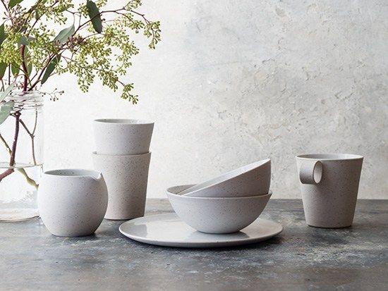 Speckled Porcelain Tableware
