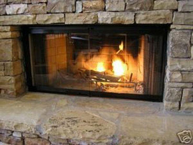 17 best ideas about fireplace doors on pinterest