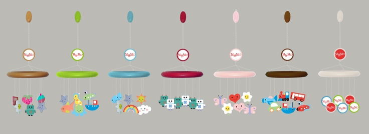 little MyMo family - lots of mobiles, mix and match style