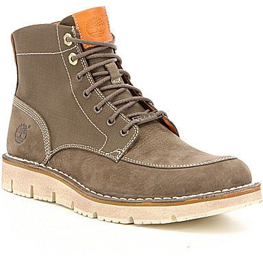 Timberland Men's Westmore Premium Nubuck Lace Up Boots