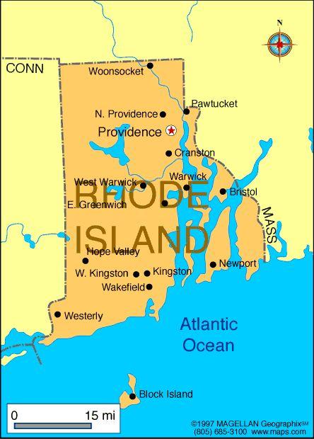 Rhode Island Atlas: Maps and Online Resources | Infoplease.com