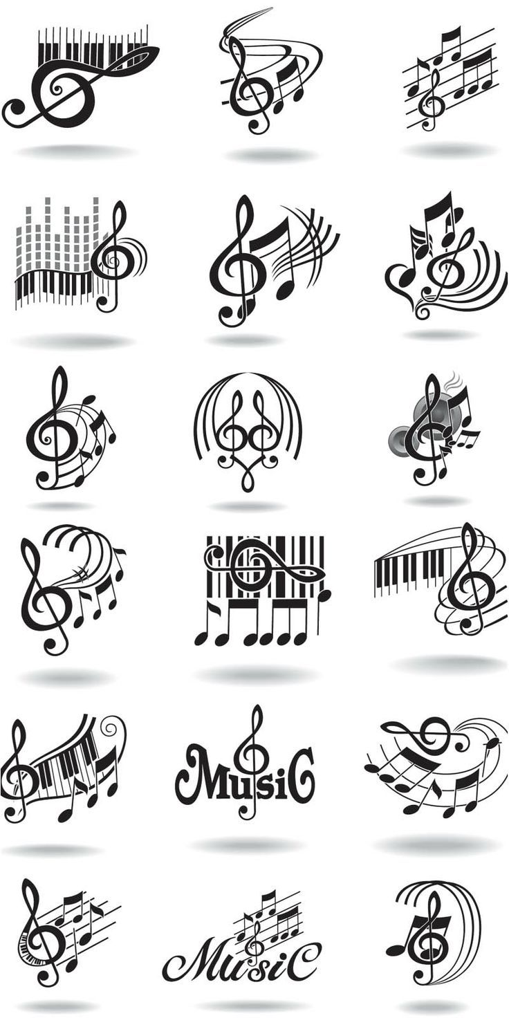 Music notation graphics