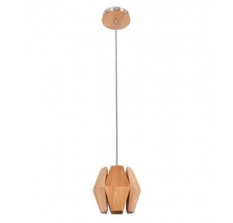 Ragnar Small Pendant in Ash Timber