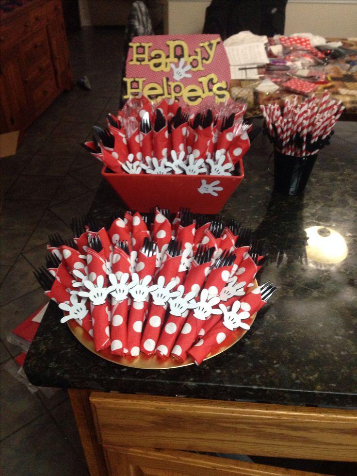 Mickey Mouse birthday party idea