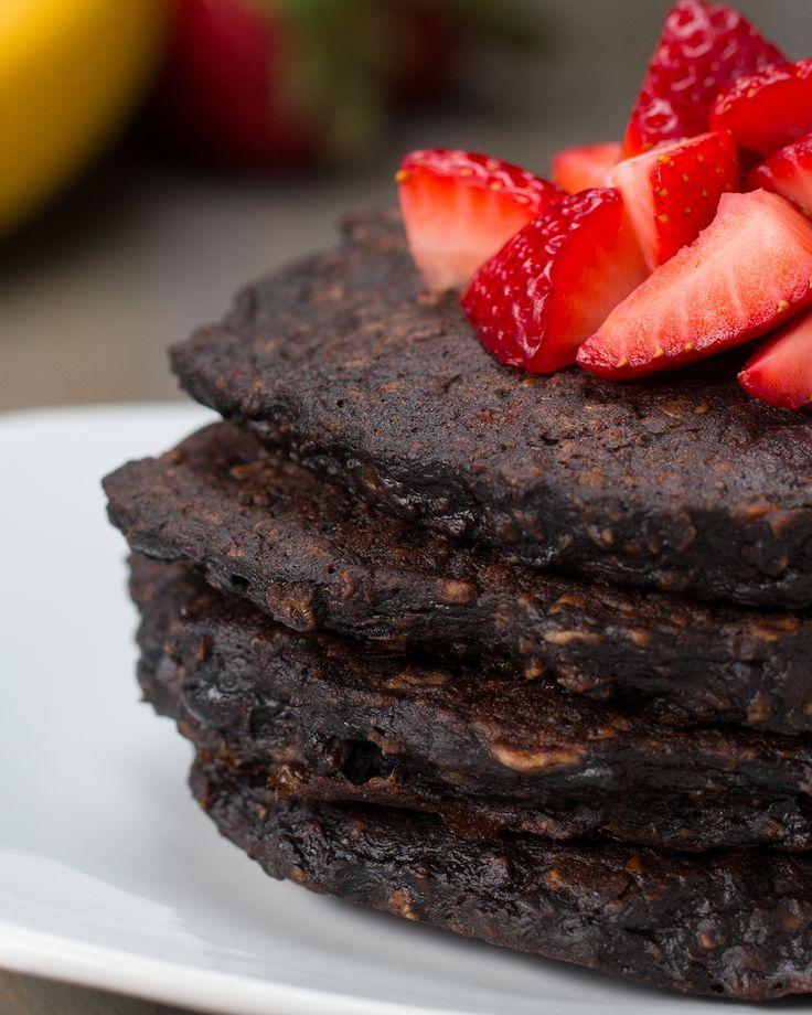 Healthy Pancakes 4 Ways