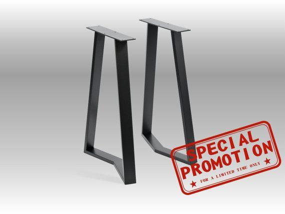 "28"" YAKO 60.20 Trapezoid Table Legs"