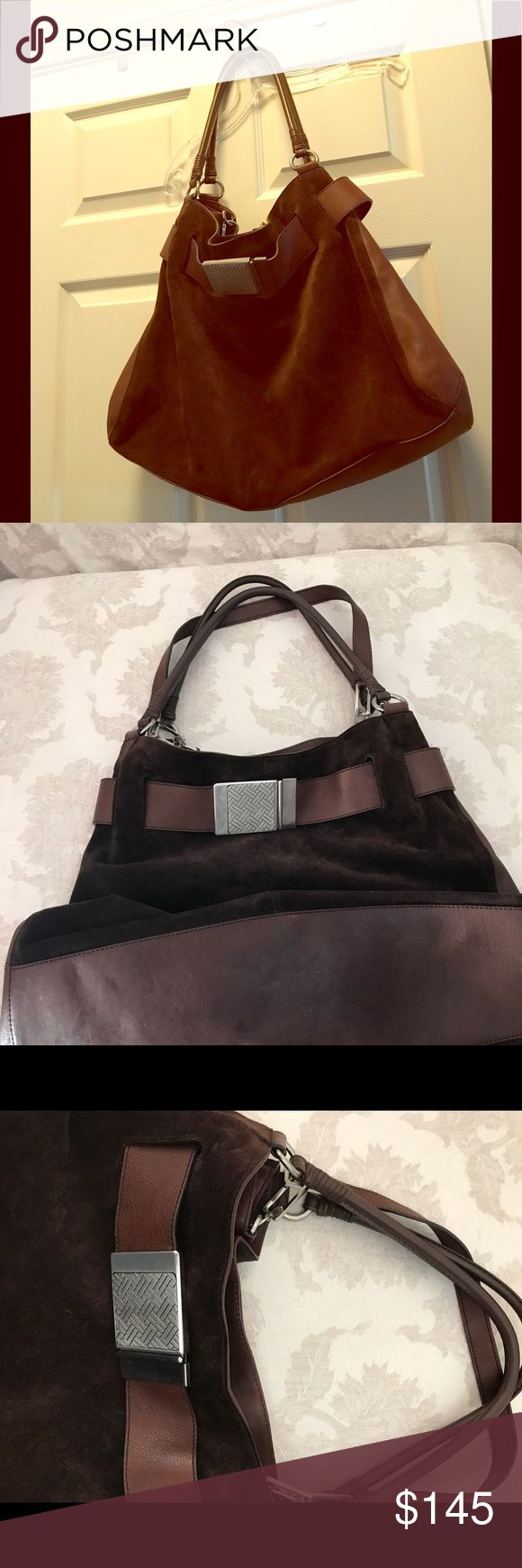 Fabulous Cole Haan Suede Leather Tote