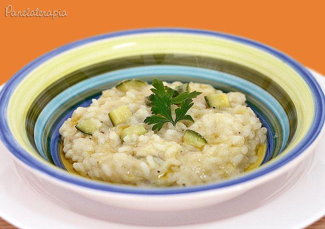 Risoto de Abobrinha com Bacalhau ~ PANELATERAPIA - Blog de Culinária, Gastronomia e Receitas