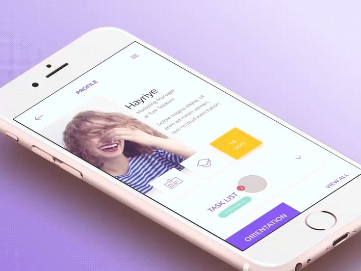 In-House App – Profile
