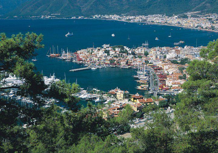 where the #mediterranean meets the #aegean #marmaris #bluecruise #destination :)
