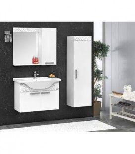 Ensemble salle de bain YAPRAK 80