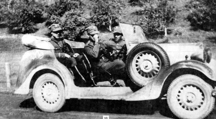 Polish solders - in an off-road vehicle before 1939