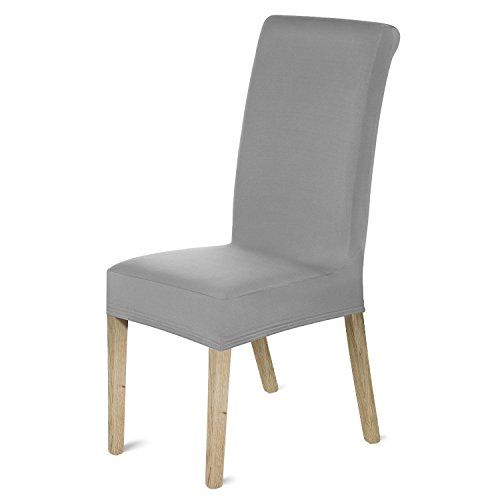 From 15.99 Femor 4pcs Spandex Chair Covers Removable Stretch Chair Protective Covers For Dining Room Hotel Banquet Ceremony(gray)