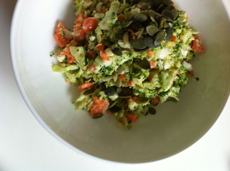 broccoli salad in Thermomix