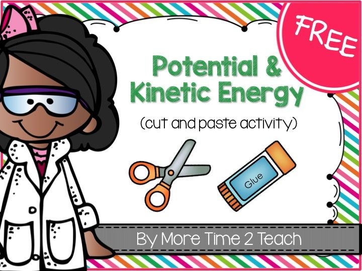 FREE: Quick and FUN way to assess students understanding of POTENTIAL and KINETIC ENERGY!