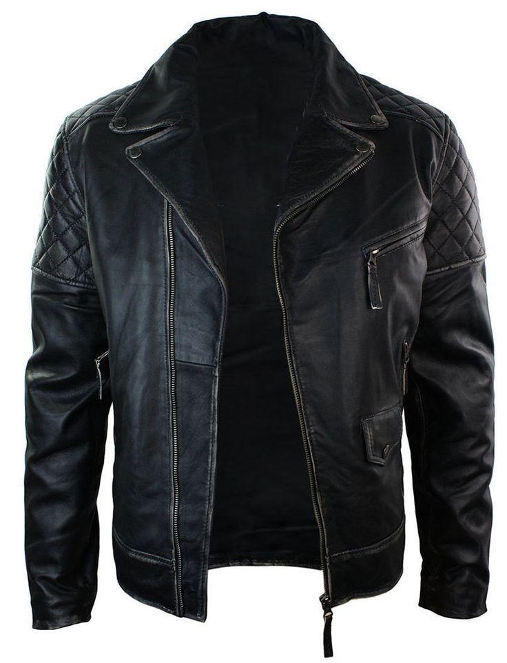 Para Hombres Motocicleta Brando Bikers Punk Vintage Chaqueta De Cuero Negro | Ropa, calzado y accesorios, Ropa para hombre, Abrigos y chaquetas | eBay!