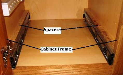 Free Pull Out Shelf Plans How To Build Pull Out Shelves
