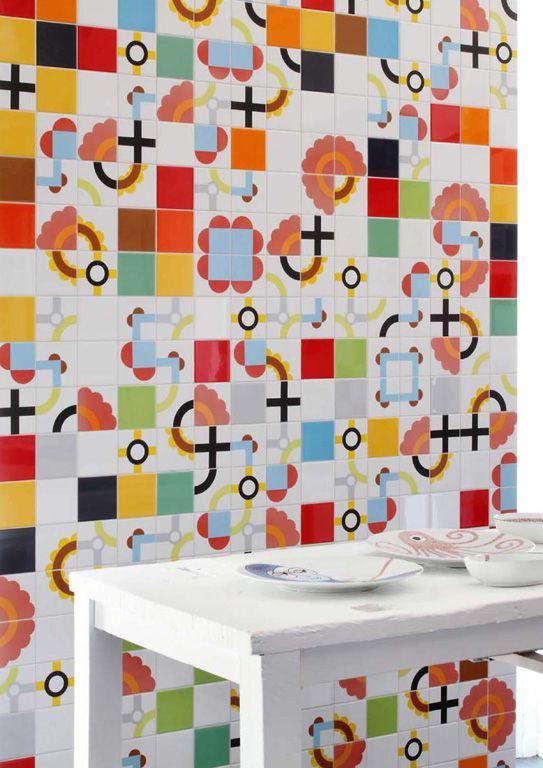 Tube Tiles Designed by Paula Juchem www.seniocer.it IL BIANCO E I SUOI DECORI collection