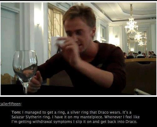 Just another reason for me to love Tom Felton
