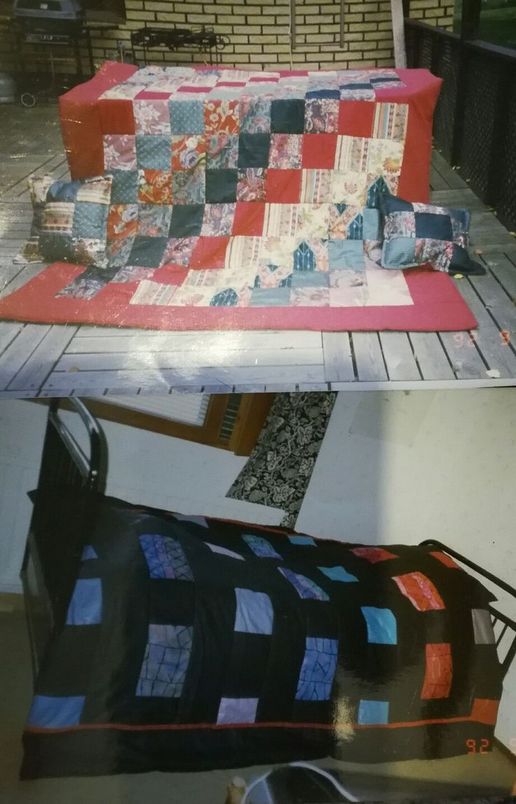 Made these quilts when i was 15 , 32 Years ago..