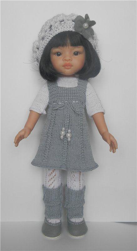 Берет для куклы своими руками 45