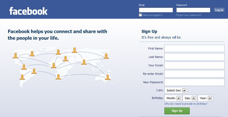 facebook com log in